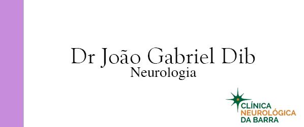 Dr João Gabriel Dib Neurologista na Barra da Tijuca