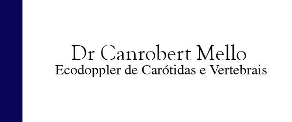 Dr Canrobert Mello Ecodoppler de Carótidas e Vertebrais em Itaipava