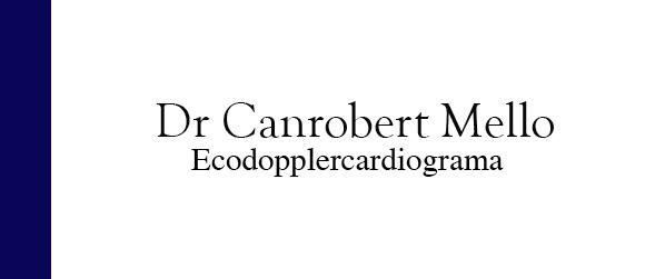 Dr Canrobert Mello Ecodopplercardiograma em Itaipava