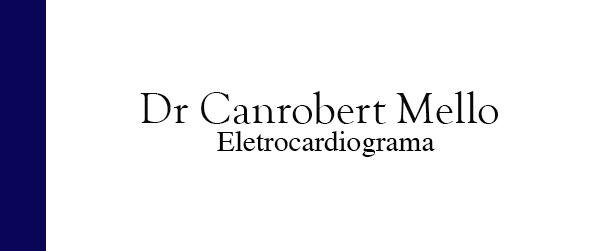 Dr Canrobert Mello Eletrocardiograma em Itaipava