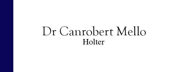 Dr Canrobert Mello Holter em Itaipava