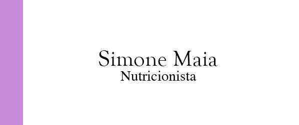 Simone Maia Nutricionista no Centro