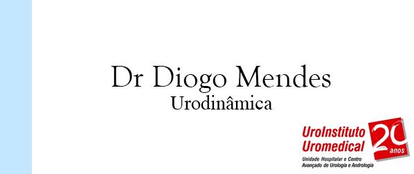 Dr Diogo Mendes Urodinâmica em Brasília