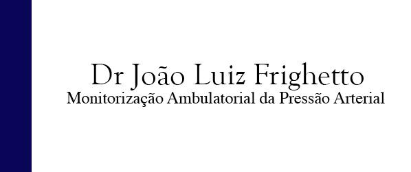 Dr João Luiz Frighetto Mapa na Freguesia