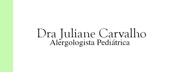Dra Juliane Carvalho Alergologista Pediátrica no Leblon