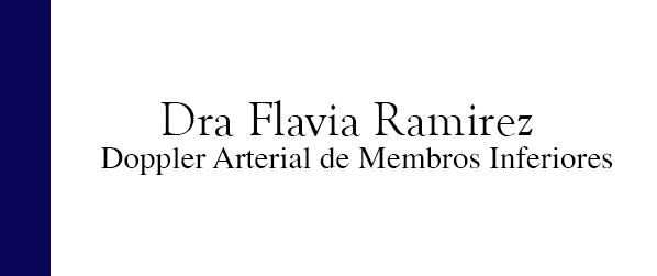 Dra Flavia Ramirez Doppler arterial de membros inferiores no Leblon