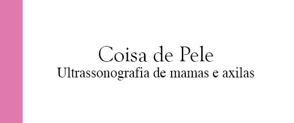 Coisa de Pele Ultrassonografia de mamas e axilas em Brasília