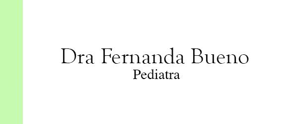 Dra Fernanda Bueno Pediatra em Jacarepaguá