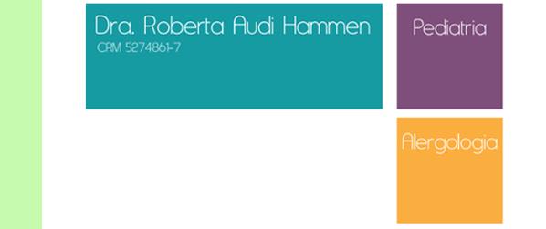 Dra Roberta Audi Alergologia Pediátrica em Jacarepaguá