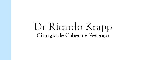 Dr Ricardo Krapp Cirurgia de Cabeça e Pescoço no Rio de Janeiro