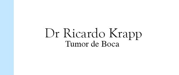 Dr Ricardo Krapp Tumor de Boca no Rio de Janeiro
