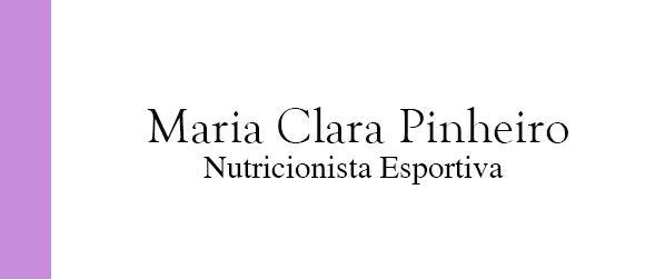 Maria Clara Pinheiro Nutrição Esportiva no Rio de Janeiro