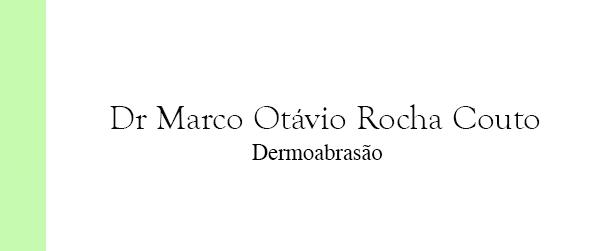 Dr Marco Otávio Rocha Couto Dermoabrasão em Brasília