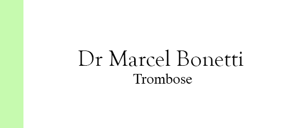 Dr Marcel Bonetti Trombose no Gama