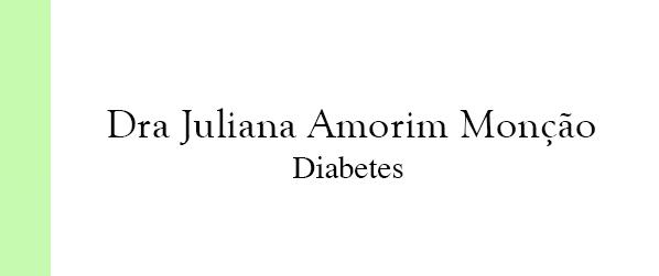 Dra Juliana Amorim Monção Diabetes em Brasília
