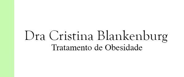 Dra Cristina Blankenburg Tratamento de Obesidade em Brasília