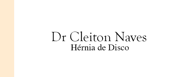 Dr Cleiton Naves Hérnia de Disco em Botafogo