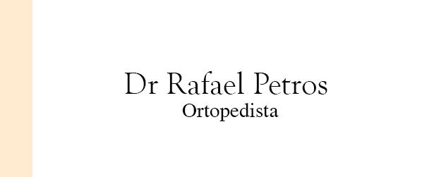 Dr Rafael Petros Ortopedista na Barra da Tijuca