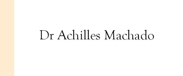 Dr Achilles Machado Glândulas salivares em Brasília