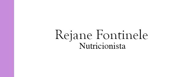 Rejane Fontinele Nutricionista plano de saúde em Brasília