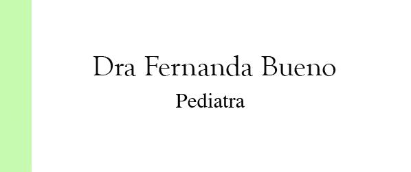 Dra Fernanda Bueno Pediatra no Leblon