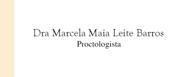 Dra Marcela Maia Leite Barros Proctologista em Brasília