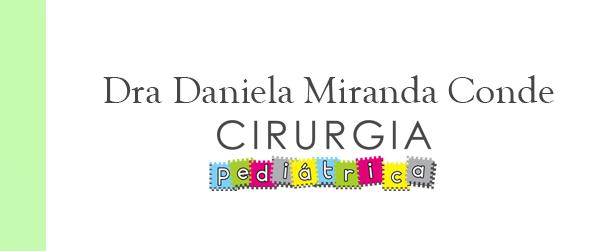 Dra Daniela Miranda Conde Cirurgia pediátrica Hospital Vitória