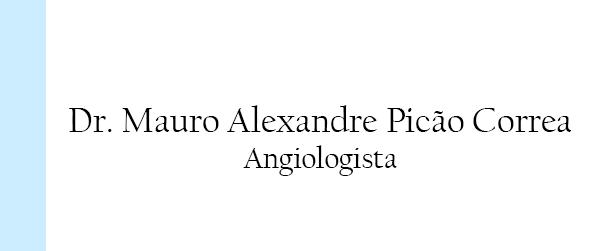 Dr Mauro Alexandre Picão Correa Angiologista Zona Sul RJ
