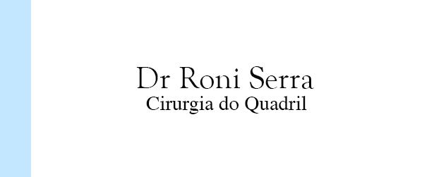 Dr Roni Serra Artroscopia de quadril no Rio de Janeiro