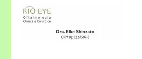 Dra Elke Shinzato Oftalmologista no Leblon