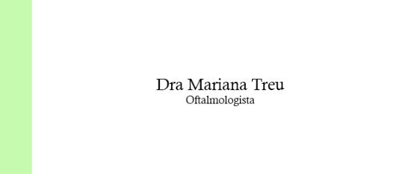 Dra Mariana Treu Oftalmologista na Barra da Tijuca